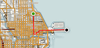 navy pier map magnificent mile and navy pier chicago illinois alltrails com