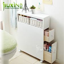 Floor Storage Cabinet Furniture Toilet Combination Side Cabinet Bathroom Cabinet Pumping