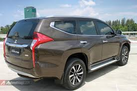 2016 mitsubishi pajero sport review review and test drive mitsubishi all new pajero sport 2016