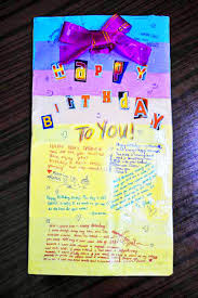 my best birthday card ever u2014 homemade recycled materials imagenation