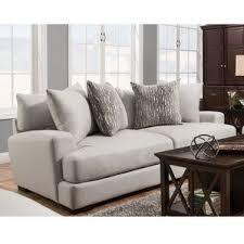 modern microfiber sofas couches allmodern