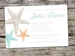 starfish wedding invitations themed bridal shower invitations snapshot wonderful starfish