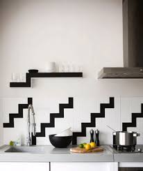 black and white kitchen backsplash 19 amazing kitchen decorating ideas real simple