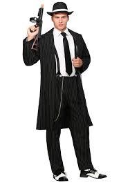 halloween 1920s costumes black zoot suit costume men u0027s 1920 u0027s halloween gangster costumes