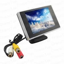Lcd Wifi Parking Set 3 5 Lcd Monitor Wifi Reversing Cool Mania