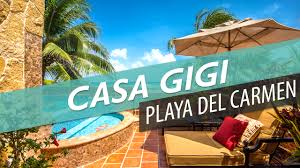 casa gigi villas for rent in playa del carmen youtube