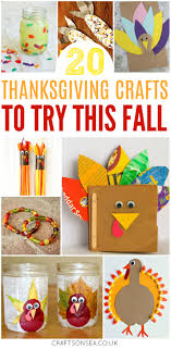 thanksgiving crafts for crafts on sea