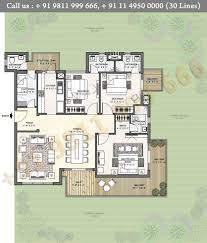 floor plan puri diplomatic greens phase 1