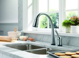 touch2o kitchen faucet delta 980t ar dst pilar single handle pull kitchen faucet