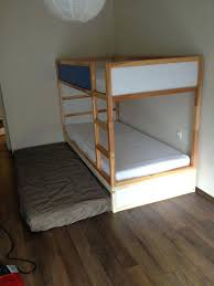 Bunk Bed For 3 Beds From Ikeadouble Bunk Bed Extra Hidden Bed Sleeps 3 Bed Slats