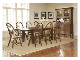 broyhill furniture attic rustic leg dining table with leaves