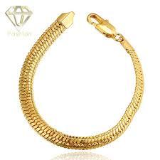 magnetic gold bracelet images Plated gold bracelet new arrival heavy magnetic fake snake oblate jpg