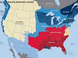 Map Of Time Zones In America by The 11 Nations Of The United States Business Insider