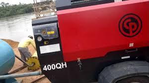 compressor pneumático diesel 400qh e 400qhh locaenge comércio