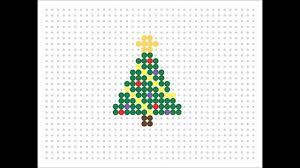 hama bead christmas tree christmas series 2 youtube