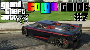 Color For 2016 Gta V Ultimate Color Guide 7 Best Colors For Car