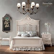 Italian Double Bed Designs Wood Double Bed Classic Wooden Integrated Bedside Table