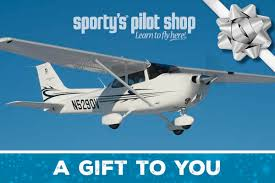sporty u0027s email gift card from sporty u0027s pilot shop