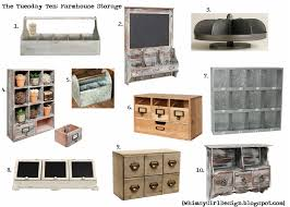 Cubby Storage Bins Whimsy The Tuesday Ten Farmhouse Caddies Cubbies Shelves