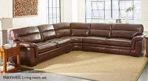 austin top grain leather sectional with ottoman top grain leather couch new maxwell costco with 14
