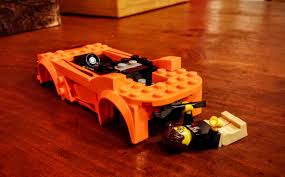 lego mclaren mclaren 720s lego kit review orange is the new brick 95 octane