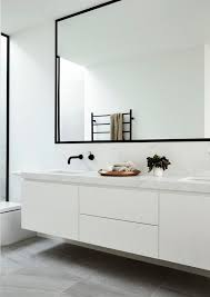 Frames For Mirrors In Bathrooms by Best 25 White Framed Mirrors Ideas On Pinterest Framed Mirrors