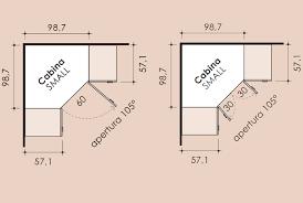 armadio angolare misure risultati immagini per misure per dispensa ad angolo a tutta