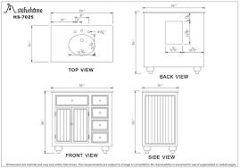 Bathroom Cabinet Height Standard Bathroom Vanity Cabinet Height Bathroom Decor Ideas