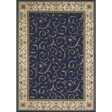 Blue Area Rugs Brilliant Blue Area Rugs Square Blue Circle And Wave Pattern