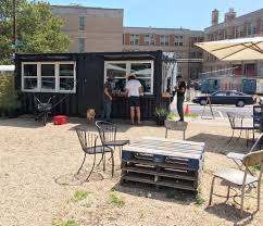 pop up restaurants shipping container restaurants modulate