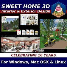 3d Home Design Software Linux Sweet Home 3d Interior U0026 Exterior Cad Design Software Windows Mac
