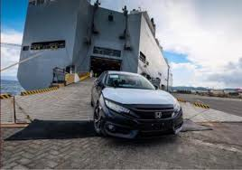 honda philippines lot of 2016 honda civic arrives in philippines