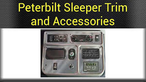 Truck Accessories Interior Peterbilt Interior Parts Big Rig Chrome Shop Semi Truck Chrome