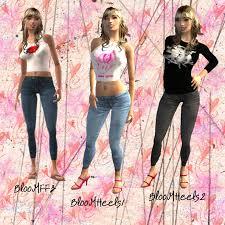 Liana Sims 2 Preview Women S Clothing Swimwear Cpu Casual Clothing 2 Sims 2 Downloads Women U0027s Clothing
