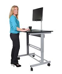 Standing Computer Desks by Stand Up Desk With Monitor Mount Stand Up Desk Store