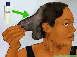 hairstyles for bed wiki how 4 ways to style african hair wikihow