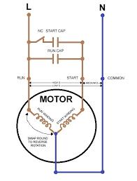 capacitor start capacitor run motor wiring diagram hvac capacitor