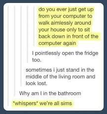 Sims Meme - were all sims meme guy