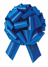 10 pack 14 u0027 large blue pull bow pew bows wedding decorations