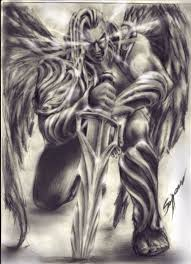 Tattoo Ideas Of Angels Best 25 Archangel Tattoo Ideas On Pinterest Angel Demon Tattoo