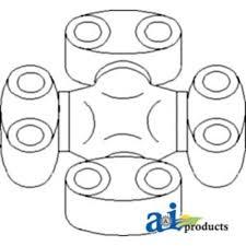 301844a2 spider u joint transmission drive shaft fits case ih