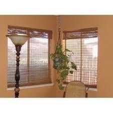 arlo blinds tuscan bamboo 74 inch long roman shade free shipping