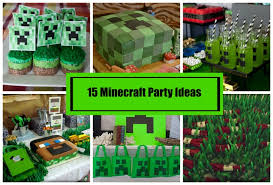 minecraft backdrop 15 minecraft party ideas party