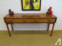 credenza table mid century 1960 s low sideboard credenza entry