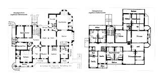 main and upper floor plans gelbensande the summer
