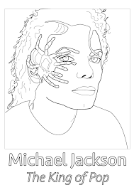 michael jackson spider unclassifiable coloring pages for