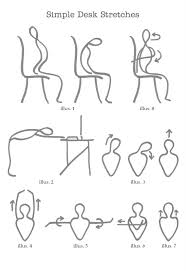Easy Desk Do The Goo Easy At Your Desk Stretches