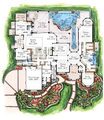 Floor Plan For Mansion Mansion Floor Plans With Pool Mediterranean Mansion Floor Plans