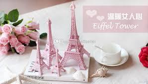 creative valentine u0027s day gift pink paris 3d eiffel tower model