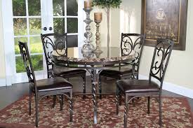 round dining room table for 4 burril round table u0026 4 chairs package mor furniture for less